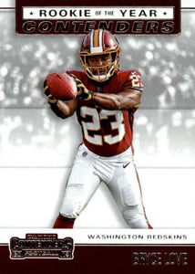 2019 Panini Contenders ROOKIE OF THE YEAR CONTENDERS Insert - Pick Your Cards: #RYA-BL Bryce Love  - Washington Redskins