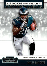Load image into Gallery viewer, 2019 Panini Contenders ROOKIE OF THE YEAR CONTENDERS Insert - Pick Your Cards: #RYA-MS Miles Sanders  - Philadelphia Eagles