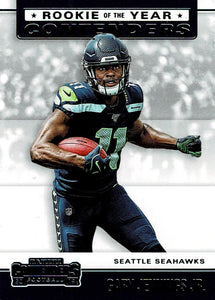 2019 Panini Contenders ROOKIE OF THE YEAR CONTENDERS Insert - Pick Your Cards: #RYA-GJ Gary Jennings Jr.  - Seattle Seahawks
