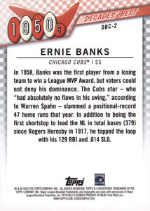 2020 Topps Series 1 Decades' Best Chrome ~ Pick your card - HouseOfCommons.cards
