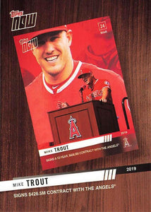 2020 Topps Series 1 Topps Now Review 2019 Inserts ~ Pick your card - HouseOfCommons.cards