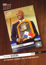 Load image into Gallery viewer, 2020 Topps Series 1 Topps Now Review 2019 Inserts ~ Pick your card