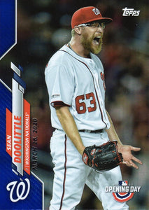 2020 Topps Opening Day BLUE FOIL Parallels PR2020 ~ Pick your card - HouseOfCommons.cards