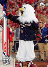 Load image into Gallery viewer, 2020 Topps Opening Day MASCOTS Inserts ~ Pick your card - HouseOfCommons.cards