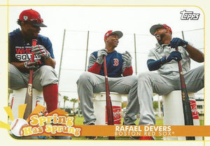 2020 Topps Opening Day SPRING HAS SPRUNG Inserts ~ Pick your card - HouseOfCommons.cards