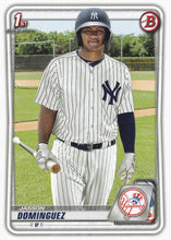 Load image into Gallery viewer, 2020 Bowman Baseball Cards - Prospects (1-100): #BP-8 Jasson Dominguez
