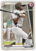 Load image into Gallery viewer, 2020 Bowman Baseball Cards - Prospects (1-100): #BP-10 Xavier Edwards