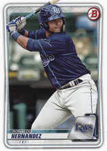 Load image into Gallery viewer, 2020 Bowman Baseball Cards - Prospects (1-100): #BP-12 Ronaldo Hernandez