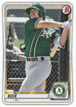 Load image into Gallery viewer, 2020 Bowman Baseball Cards - Prospects (1-100): #BP-16 Austin Beck