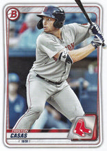 Load image into Gallery viewer, 2020 Bowman Baseball Cards - Prospects (1-100): #BP-18 Triston Casas