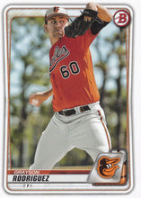 Load image into Gallery viewer, 2020 Bowman Baseball Cards - Prospects (1-100): #BP-22 Grayson Rodriguez