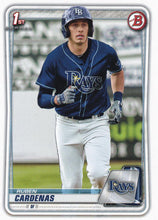 Load image into Gallery viewer, 2020 Bowman Baseball Cards - Prospects (1-100): #BP-23 Ruben Cardenas