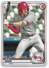 Load image into Gallery viewer, 2020 Bowman Baseball Cards - Prospects (1-100): #BP-29 Alec Bohm