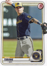 Load image into Gallery viewer, 2020 Bowman Baseball Cards - Prospects (1-100): #BP-35 Brice Turang