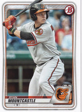 Load image into Gallery viewer, 2020 Bowman Baseball Cards - Prospects (1-100): #BP-36 Ryan Mountcastle