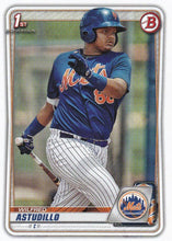Load image into Gallery viewer, 2020 Bowman Baseball Cards - Prospects (1-100): #BP-37 Wilfred Astudillo