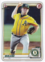 Load image into Gallery viewer, 2020 Bowman Baseball Cards - Prospects (1-100): #BP-38 Gus Varland