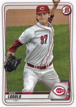 Load image into Gallery viewer, 2020 Bowman Baseball Cards - Prospects (1-100): #BP-39 Nick Lodolo
