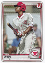 Load image into Gallery viewer, 2020 Bowman Baseball Cards - Prospects (1-100): #BP-41 Rece Hinds