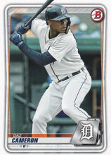 Load image into Gallery viewer, 2020 Bowman Baseball Cards - Prospects (1-100): #BP-45 Daz Cameron