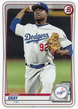 Load image into Gallery viewer, 2020 Bowman Baseball Cards - Prospects (1-100): #BP-48 Josiah Gray