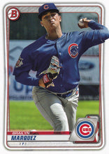 Load image into Gallery viewer, 2020 Bowman Baseball Cards - Prospects (1-100): #BP-49 Brailyn Marquez