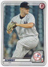 Load image into Gallery viewer, 2020 Bowman Baseball Cards - Prospects (1-100): #BP-53 Clarke Schmidt