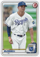 Load image into Gallery viewer, 2020 Bowman Baseball Cards - Prospects (1-100): #BP-54 Brady McConnell