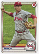 Load image into Gallery viewer, 2020 Bowman Baseball Cards - Prospects (1-100): #BP-55 Spencer Howard