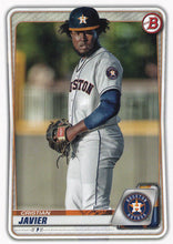 Load image into Gallery viewer, 2020 Bowman Baseball Cards - Prospects (1-100): #BP-56 Cristian Javier