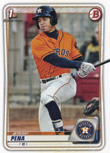 Load image into Gallery viewer, 2020 Bowman Baseball Cards - Prospects (1-100): #BP-61 Jeremy Pena