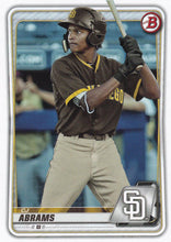 Load image into Gallery viewer, 2020 Bowman Baseball Cards - Prospects (1-100): #BP-62 CJ Abrams
