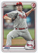 Load image into Gallery viewer, 2020 Bowman Baseball Cards - Prospects (1-100): #BP-65 Damon Jones