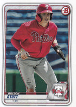 Load image into Gallery viewer, 2020 Bowman Baseball Cards - Prospects (1-100): #BP-68 Bryson Stott