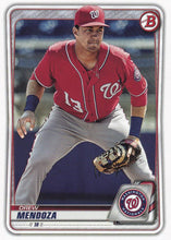 Load image into Gallery viewer, 2020 Bowman Baseball Cards - Prospects (1-100): #BP-71 Drew Mendoza