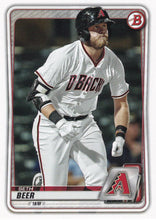 Load image into Gallery viewer, 2020 Bowman Baseball Cards - Prospects (1-100): #BP-75 Seth Beer