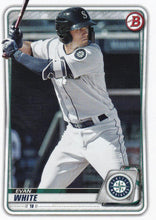Load image into Gallery viewer, 2020 Bowman Baseball Cards - Prospects (1-100): #BP-77 Evan White