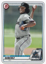 Load image into Gallery viewer, 2020 Bowman Baseball Cards - Prospects (1-100): #BP-79 Sixto Sanchez