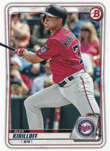 Load image into Gallery viewer, 2020 Bowman Baseball Cards - Prospects (1-100): #BP-80 Alex Kirilloff