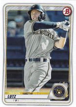 Load image into Gallery viewer, 2020 Bowman Baseball Cards - Prospects (1-100): #BP-81 Tristen Lutz