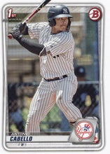 Load image into Gallery viewer, 2020 Bowman Baseball Cards - Prospects (1-100): #BP-85 Antonio Cabello