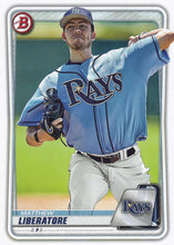 Load image into Gallery viewer, 2020 Bowman Baseball Cards - Prospects (1-100): #BP-89 Matthew Liberatore