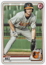 Load image into Gallery viewer, 2020 Bowman Baseball Cards - Prospects (1-100): #BP-90 Adam Hall