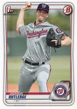 Load image into Gallery viewer, 2020 Bowman Baseball Cards - Prospects (1-100): #BP-91 Jackson Rutledge