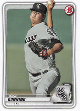 Load image into Gallery viewer, 2020 Bowman Baseball Cards - Prospects (1-100): #BP-92 Dane Dunning
