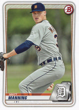 Load image into Gallery viewer, 2020 Bowman Baseball Cards - Prospects (1-100): #BP-99 Matt Manning