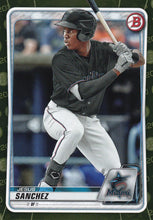 Load image into Gallery viewer, 2020 Bowman Baseball Cards - Prospects CAMO PARALLEL (1-100): #BP-11 Jesus Sanchez
