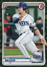 Load image into Gallery viewer, 2020 Bowman Baseball Cards - Prospects CAMO PARALLEL (1-100): #BP-17 Niko Hulsizer