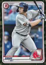Load image into Gallery viewer, 2020 Bowman Baseball Cards - Prospects CAMO PARALLEL (1-100): #BP-18 Triston Casas