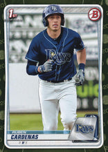 Load image into Gallery viewer, 2020 Bowman Baseball Cards - Prospects CAMO PARALLEL (1-100): #BP-23 Ruben Cardenas